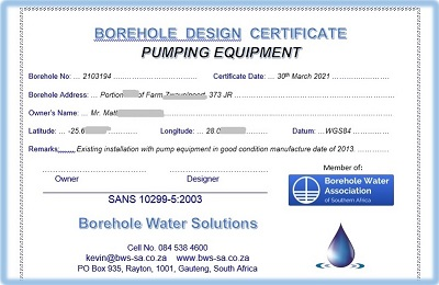 Pump Equipment Acceptance and Commissioning